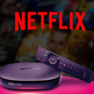 Astro Netflix