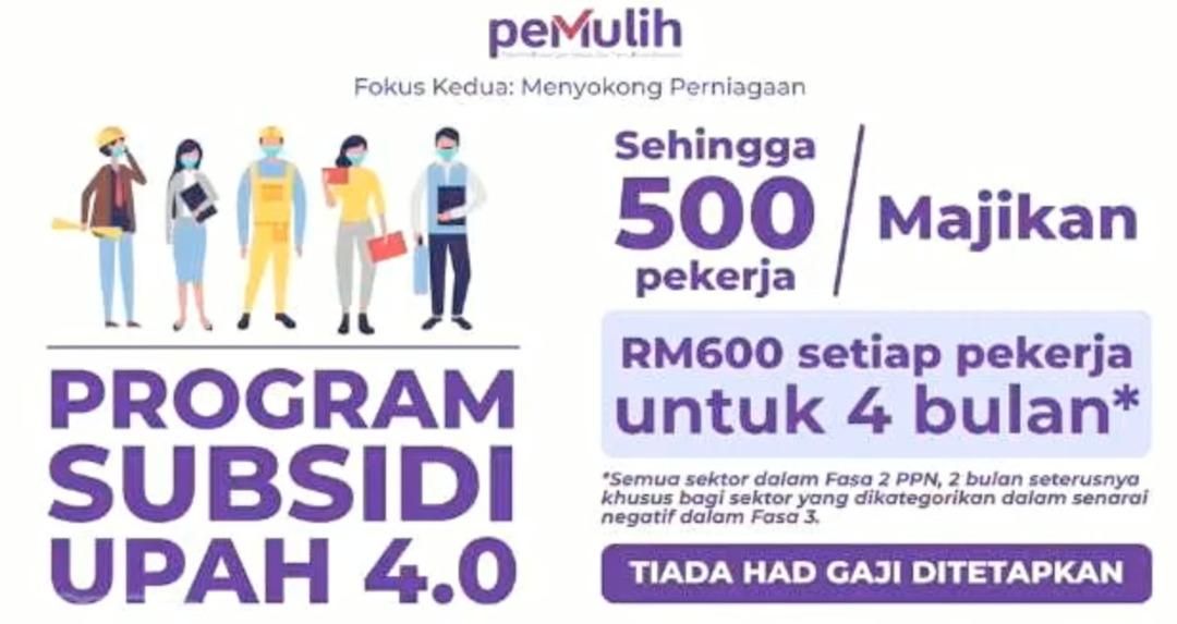 Program Subsidi Upah 4.0